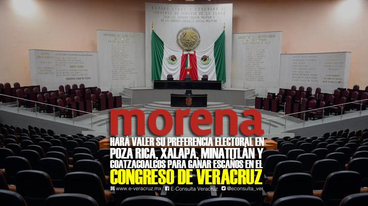 ¿Quiénes son los 20 precandidatos de Morena al Congreso de Veracruz?