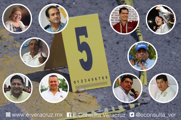 PAN y Morena gobernarán los diez municipios más inseguros de Veracruz