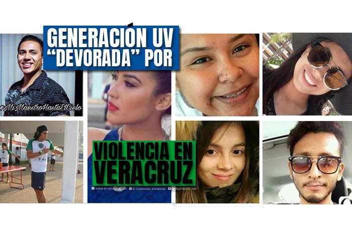 La generación de universitarios que la violencia devoró en Veracruz