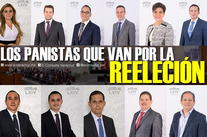 Lista de diputados locales del PAN que buscan la reelección