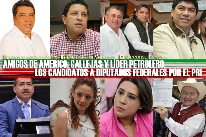 Duartistas y amigos de líderes, candidatos del PRI a diputados