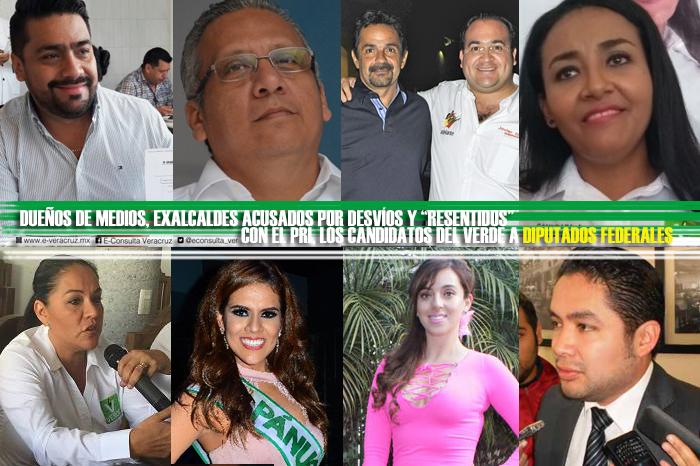 Dueños de medios y reinas de belleza, propuestas a diputados del PVEM