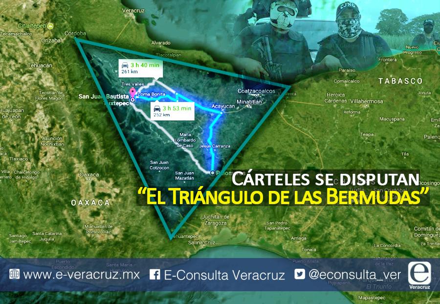 El CJNG pelea territorio en los límites de Veracruz y Oaxaca | e ...