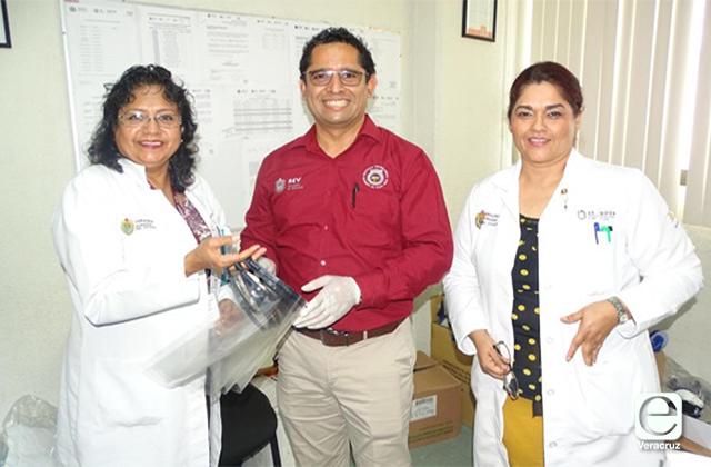 Tecnológico de Poza Rica dona mascarillas protectoras a personal médico