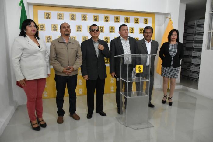 PRD respalda al PAN y a Sergio Hernández en la presidencia de la Jucopo