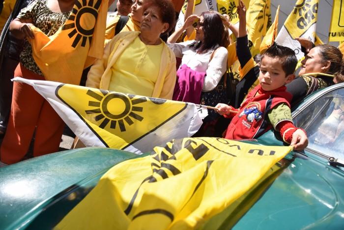 PRD asegura que no está en riesgo el triunfo en 25 alcaldías