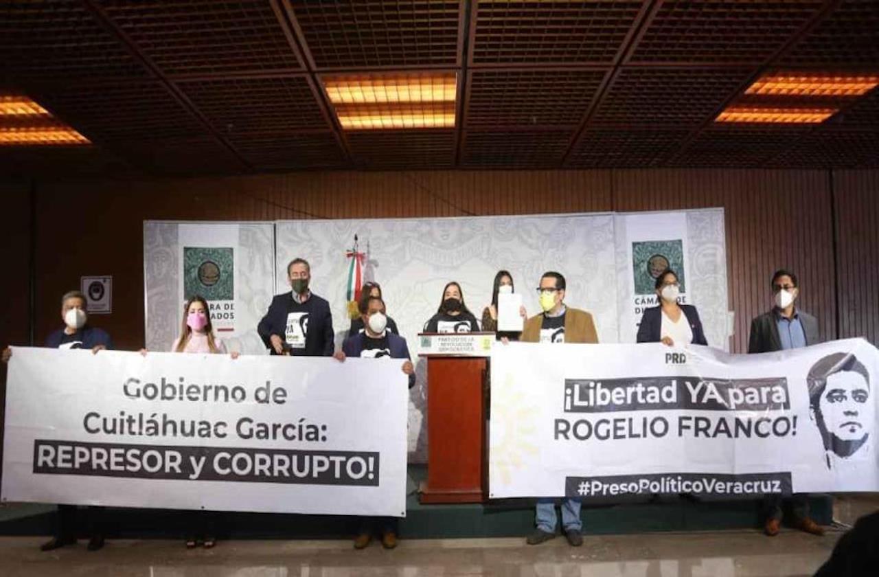 PRD exige juicio político contra Cuitláhuac; argumenta represión