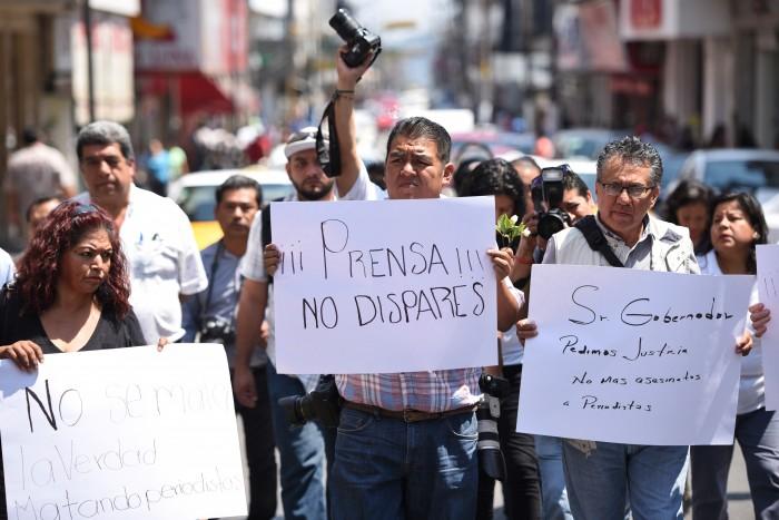 Ambiente hostil para el periodismo en Veracruz
