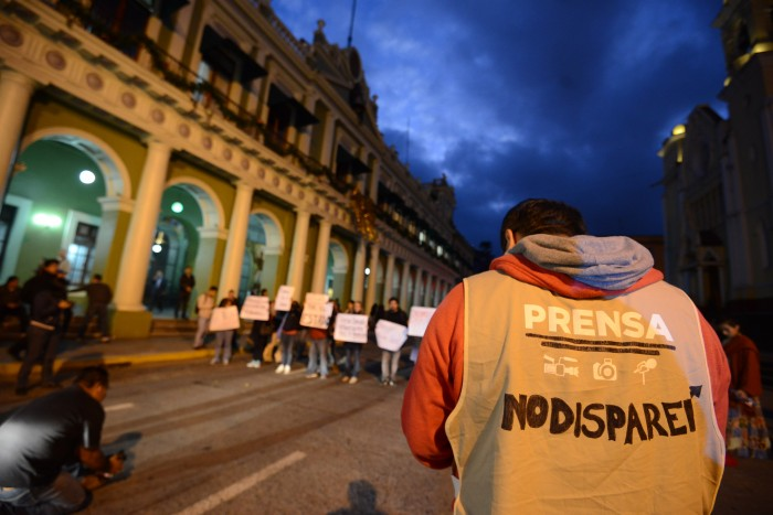 Fiscalía perdió documentación de asesinatos de periodistas