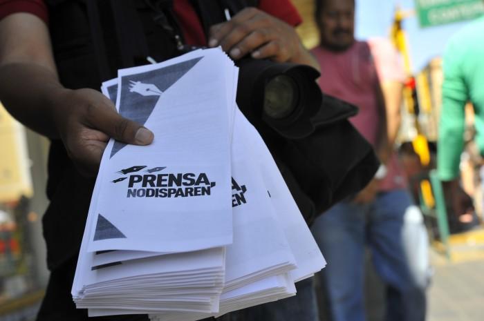 Todos los periodistas son vulnerables: Celia del Palacio