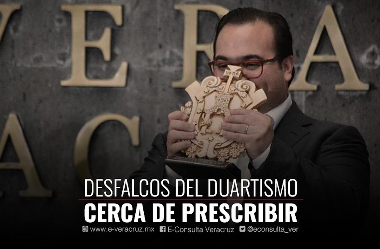 Prescriben denuncias de ASF contra Javier Duarte; impunidad a la vista