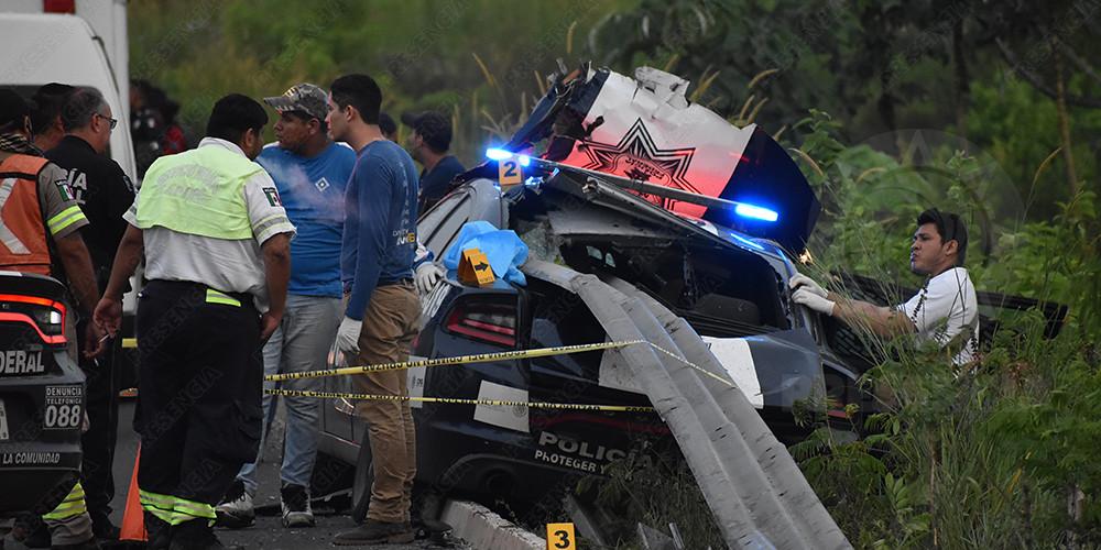Lo que debes saber sobre el trágico accidente vial en el que murió un policía, en Las Choapas