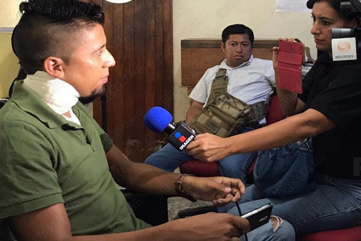 Presencia responde a Yunes: agresión a periodistas no fue por riña