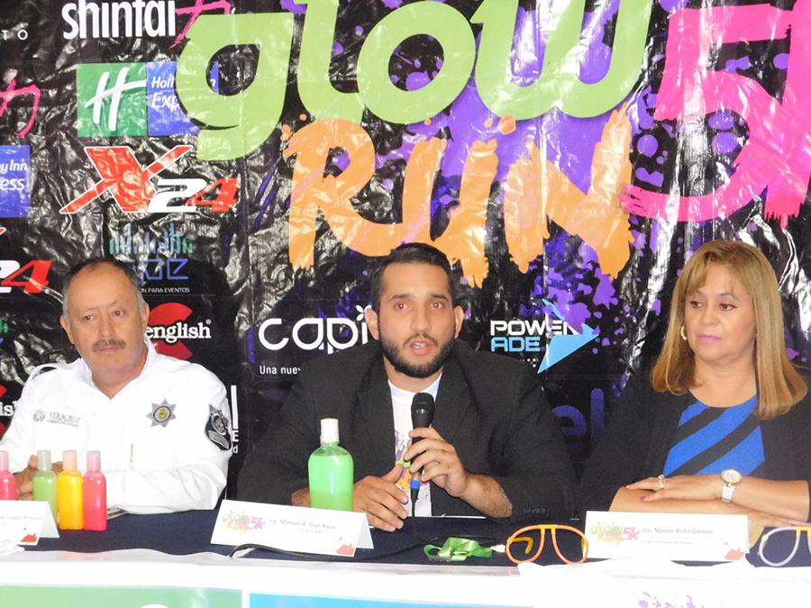 Anuncian segunda Carrera Glow Run en Xalapa