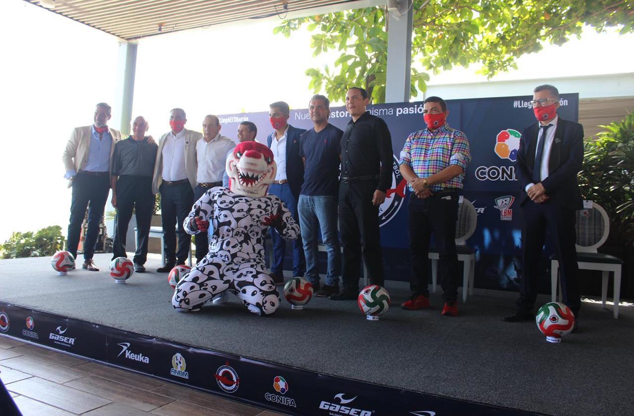 Presentan oficialmente al Club Veracruzano de Fútbol Tiburón