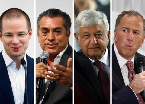 Así llegaron los candidatos presidenciables al segundo debate