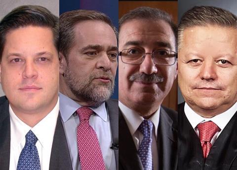Ellos son los candidatos para presidir la SCJN