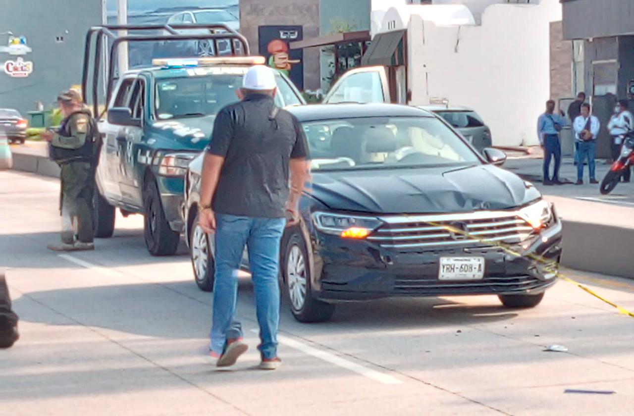 Presunta privación de la libertad en Boca del Río; abandonan vehículo