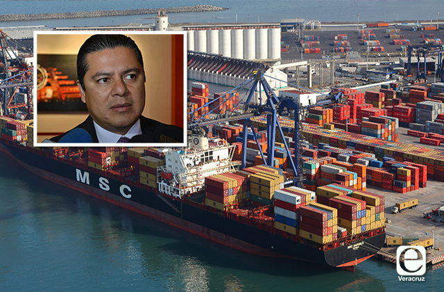 Federación debe inversión por 31 mmdp en puerto de Veracruz: PRI
