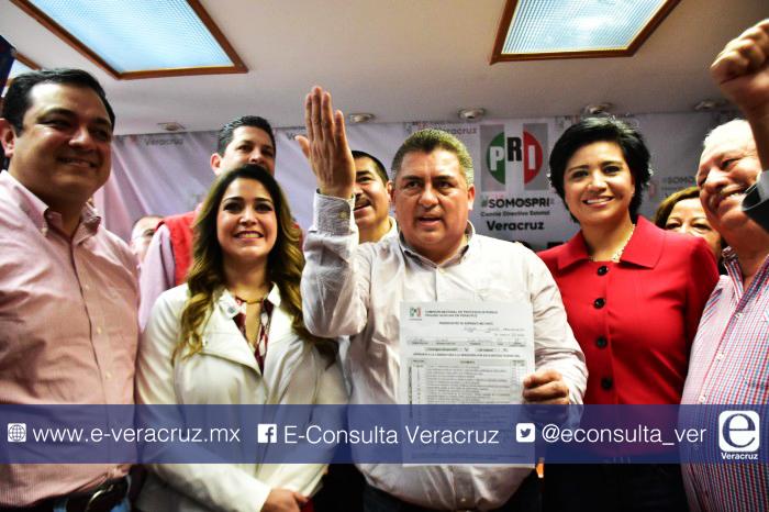 Ellos son los candidatos del PRI en Veracruz para la elección 2018