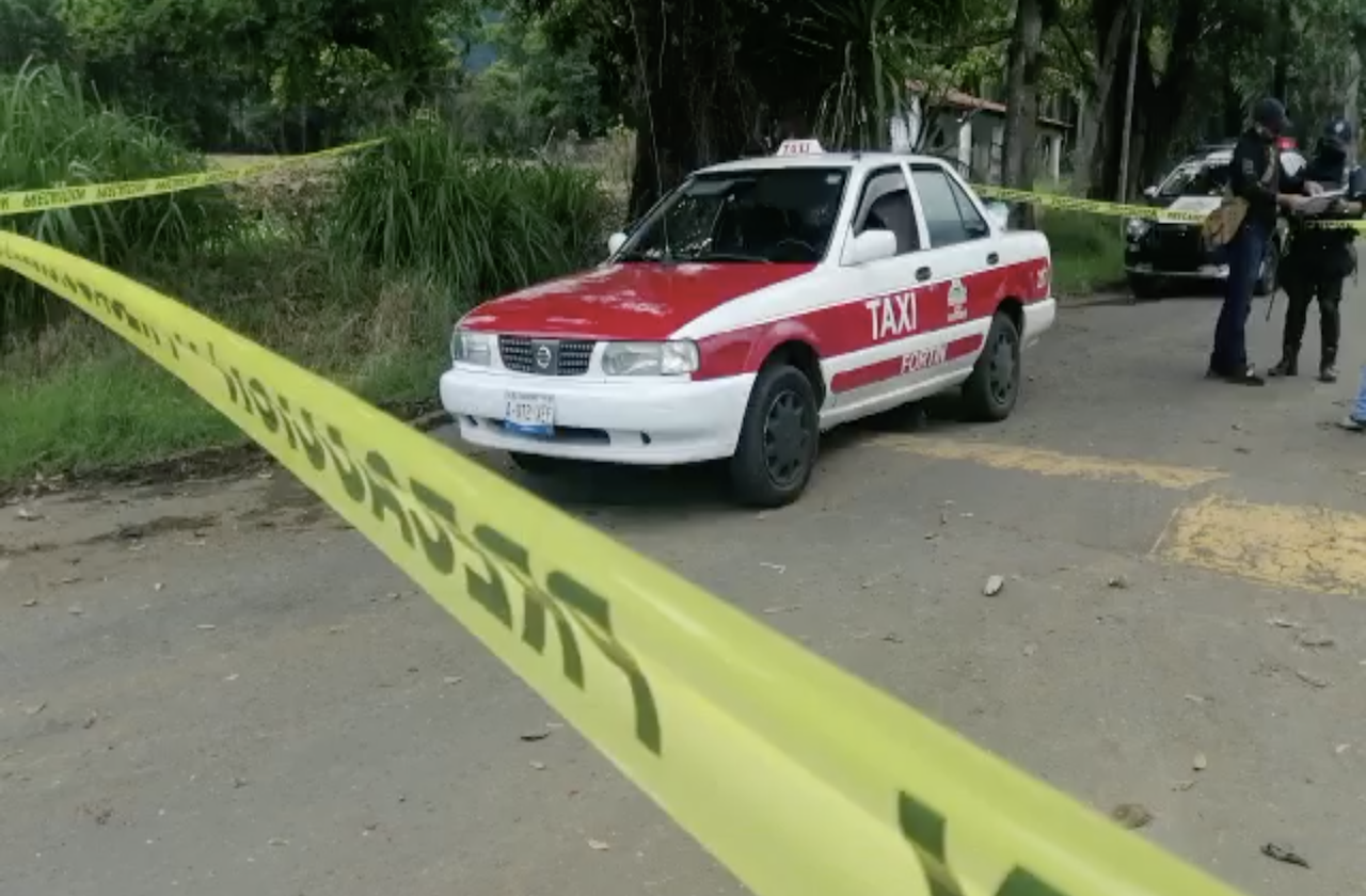 Sujetos armados privan de la libertad a taxista en Fortín