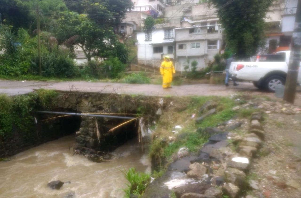 Protección Civil, alerta ante paso de FF#4 en Xalapa