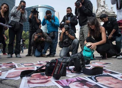 Por falta de presupuesto, podrían retirar medidas de protección a periodistas: Colchero