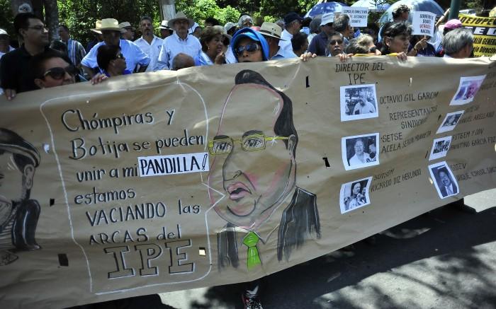 Protestas contra Duarte continuarán hasta fin del mandato