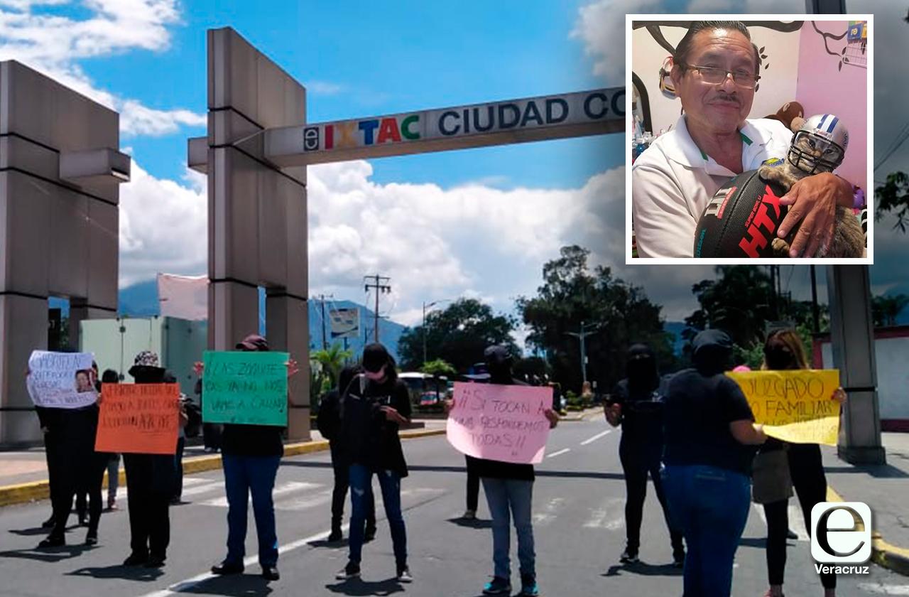 Protestan feministas de Ixtac, exigen justicia para Jacinto