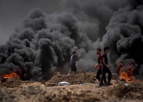 Mueren 52 personas por protestas en Gaza contra traslado de embajada de EU