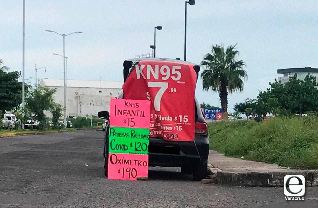 Pruebas PCR 'piratas 'se venden en mercado negro covid en Veracruz