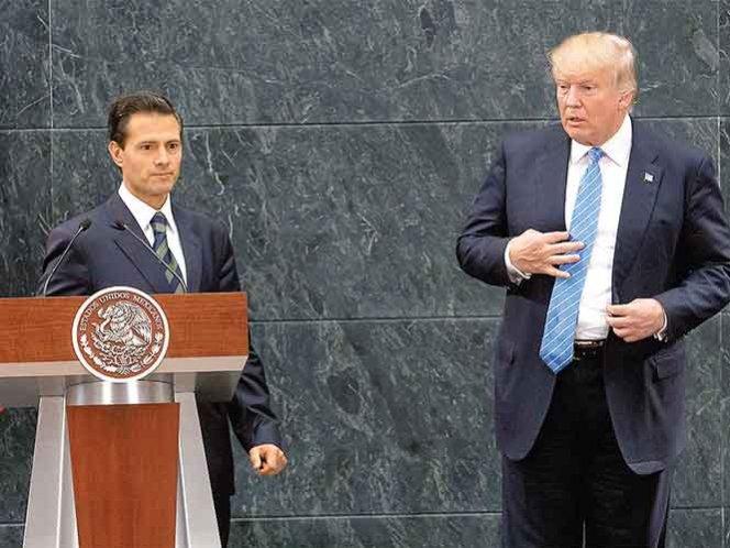 Peña y Trump se verán el 31 de enero; la Casa Blanca anunció el encuentro