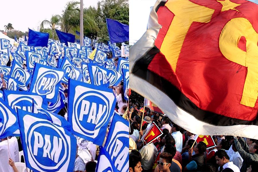 Validan nueva minifracción PAN-PT en Congreso Local