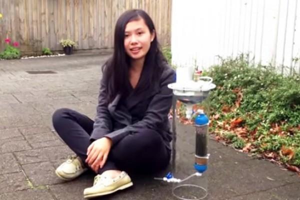 Adolescente crea dispositivo que purifica agua y genera energía al mismo tiempo