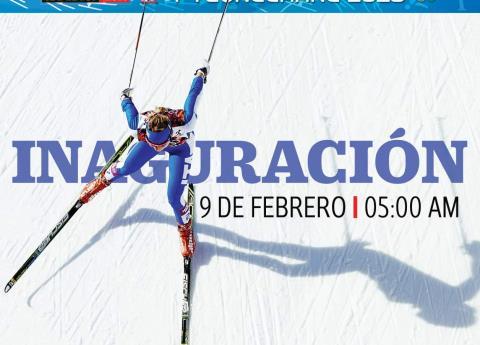 ¡Llegaron los Olímpicos de Invierno! ¿Cómo ver la inauguración?