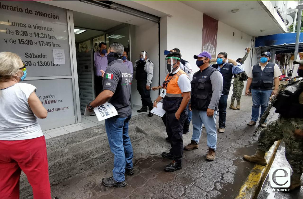 Clausura ayuntamiento de Veracruz Monte de Piedad