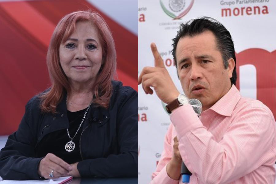 Cuitláhuac respalda a Rosario Piedra como titular de la CNDH