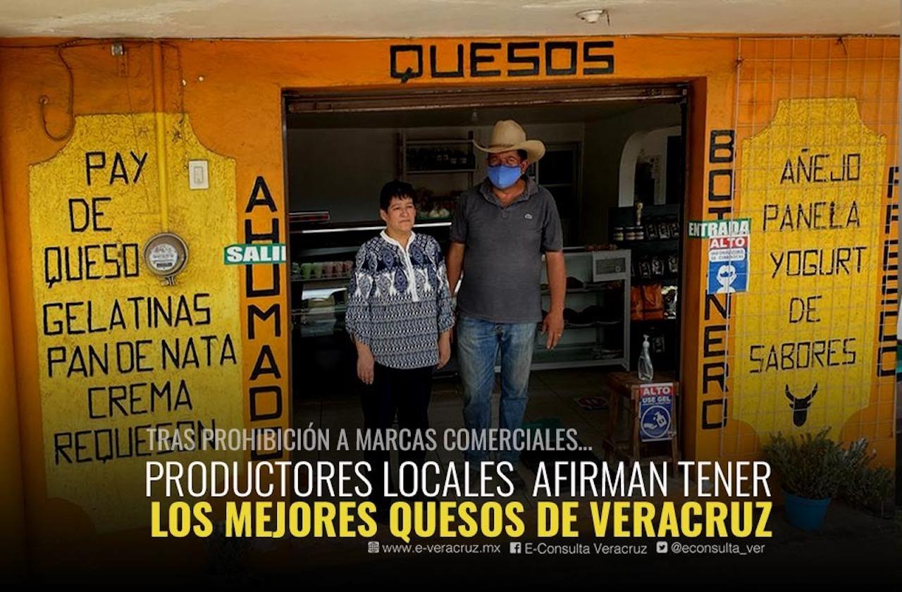 Quesos vetados no son de leche… como los de Veracruz, presume Rubén
