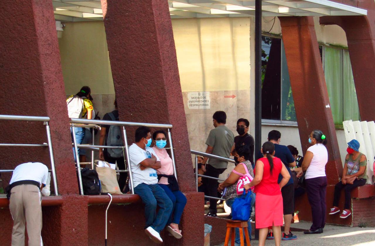 Reconvierten hospital covid en Coatza y llegan más pacientes