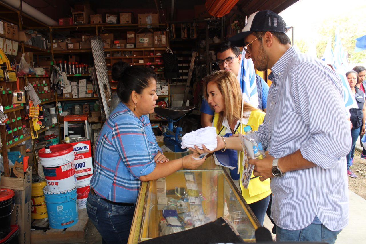 Ana Miriam asegura que reducirá tarifas de agua durante su gobierno