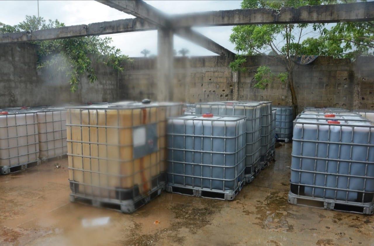Recuperan más de 25 mil litros de hidrocarburo, en Coatza