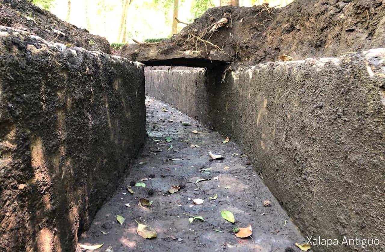 Redescubren canales subterráneos en Xalapa; así lucen