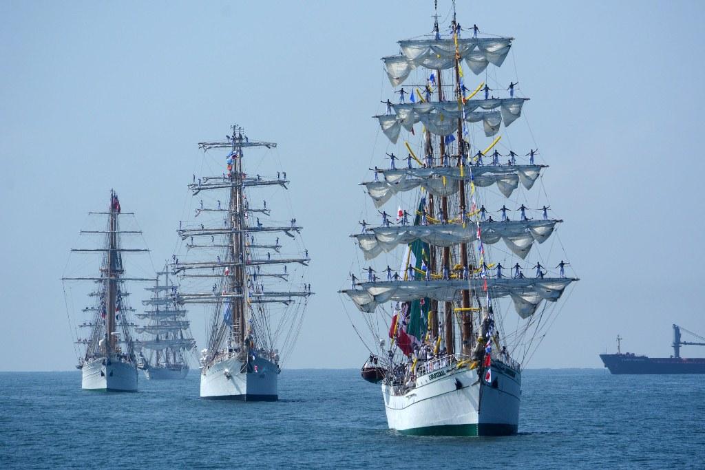 Veleros desfilarán en el puerto de Veracruz por el Festival Velas