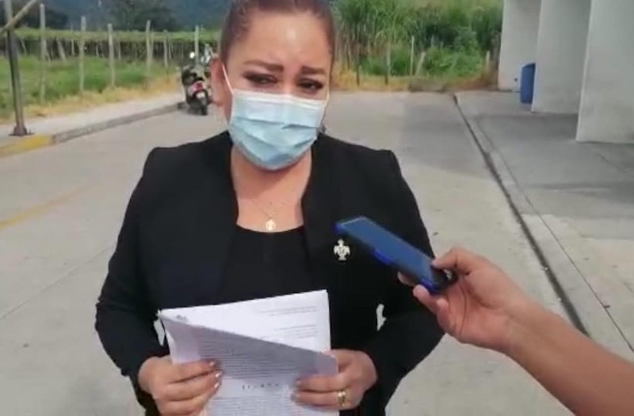 Regidora de Orizaba denuncia a Contralor por violencia de género