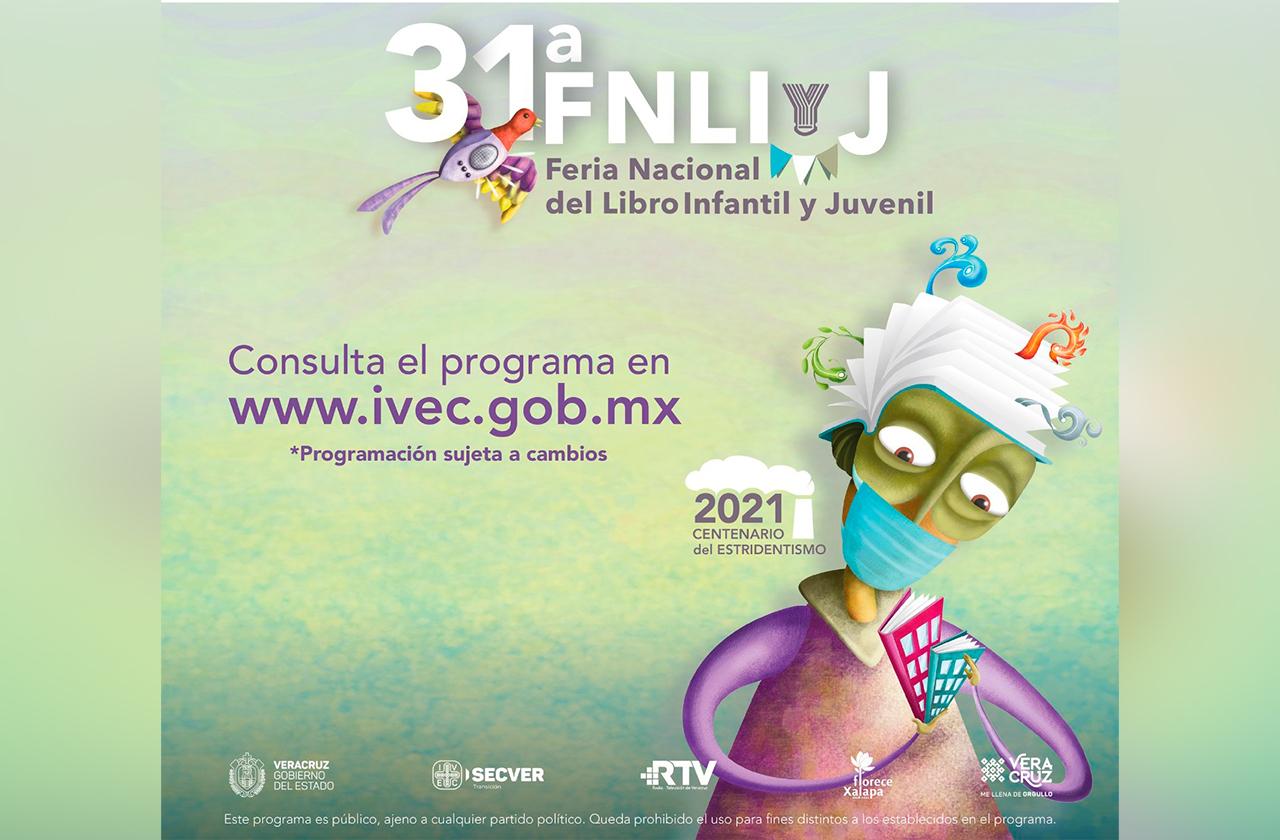 Regresa a Xalapa Feria Nacional del Libro Infantil y Juvenil 2021