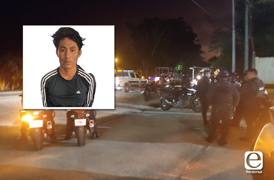 Reo aprovecha descuido de policías y se fuga en Mina