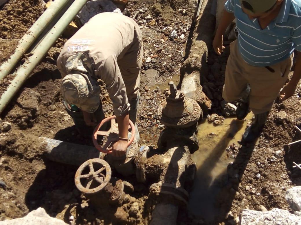 Suspenden servicio de agua potable en diversas colonias de Xalapa