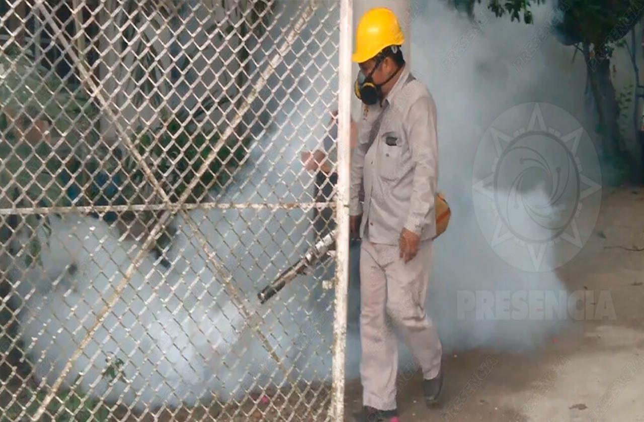 Reportan primeros casos de dengue en Las Choapas