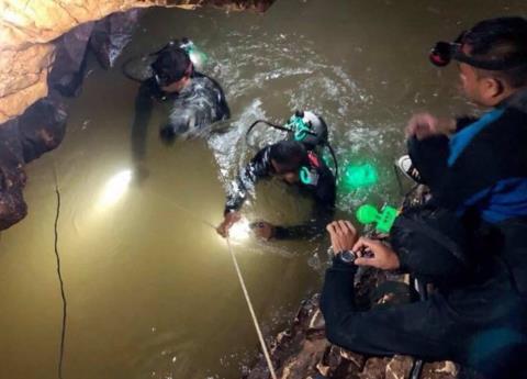 Tailandia: ya suman ocho menores rescatados de cueva