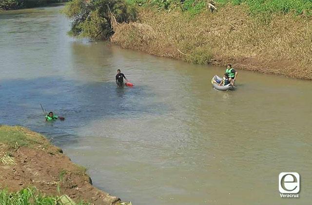 Hombre perdido en río Jamapa es buscado por rescatistas